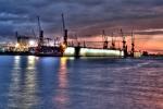 Hamburg, Hafen, HDR 1