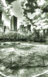 Central Park mit Randbebauung