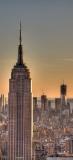 Blick aufs Empire State Building