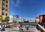Highline: Sonnenbank auf Stelzen