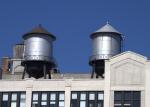 Auf vielen Dächern: Wassertank für die Sprinkler